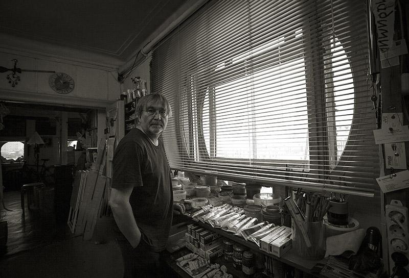 Владимир Опара в студии